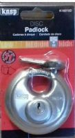 CK KASP 160 - 70mm SECURITY STAINLESS DISC PADLOCKS - K16070D
